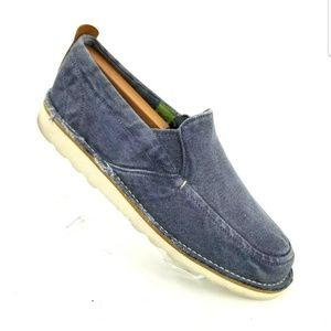 TIMBERLANDS BLUE GRAY SLIP ON COMFORT CASUAL SHOES